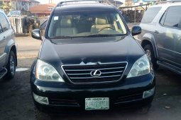 Nigeria Used Lexus GX 2004 Model Black