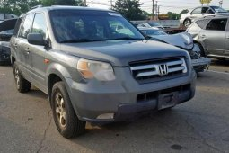 Foreign Used Honda Pilot 2008 Model Grey