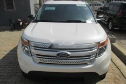 Tokunbo Ford Explorer 2012 Model White