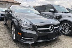 Tokunbo Mercedes-Benz CLS 2012 Model Grey