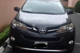 Nigeria Used Toyota RAV4 2014 Model Black