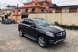 Tokunbo Mercedes-Benz GLE 2016 Model Black