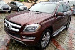 Tokunbo Mercedes-Benz ML350 2014 Model Red