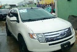 Tokunbo Ford Edge 2008 Petrol Automatic White