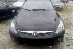 Tokunbo Honda Accord 2007 Model Black