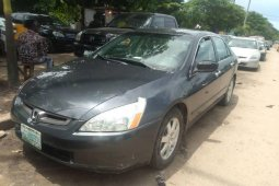 Nigeria Used Honda Accord 2005 Model Grey