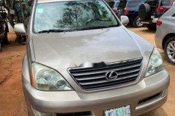 Nigeria Used Lexus GX 206 Model Gold