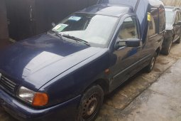 Tokunbo Volkswagen Caddy 2001 Model Blue