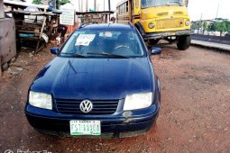 Nigeria Used Volkswagen Jetta 2002 Model Blue