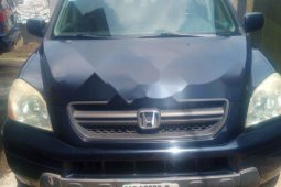 Nigeria Used Honda Pilot 2004 Model Blue