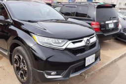 Foreign Used Honda CR-V 2019 Model Black