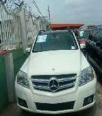 Tokunbo Mercedes-Benz GLK 2010 Model White