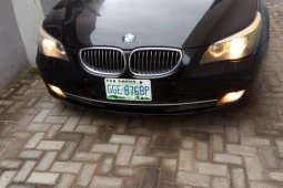 Nigeria Used BMW 5 Series 2009 Model Black