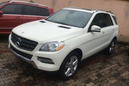 Tokunbo Mercedes-Benz ML350 2014 Model White