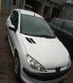 Nigeria Used Peugeot 206 2007 Model White