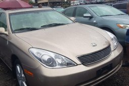 Tokunbo Lexus ES 2008 Model Gold