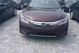 Foreign Used Honda Accord 2016 Model