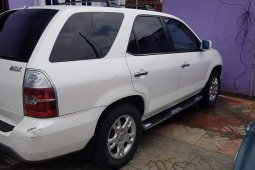 Nigeria Used Acura MDX 2005 Model White