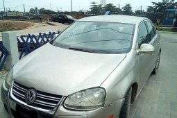 Nigeria Used Volkswagen Jetta 2005 Model Gold