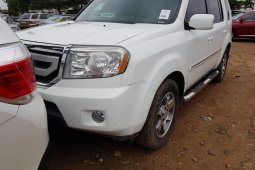 Foreign Used Honda Pilot 2010 Model White