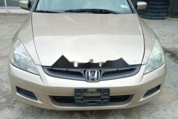 Foreign Used 2007 Honda Accord for sale in Lagos