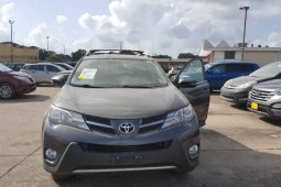 Tokunbo Toyota RAV4 2013 Model Grey