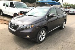 Foreign Used Lexus RX 2011 Model Grey