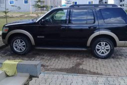 Tokunbo Ford Explorer 2008 Model Blue