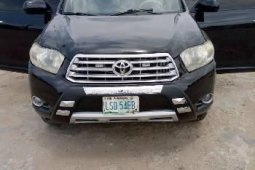 Nigeria Used Toyota Highlander 2008 Model Black