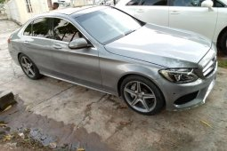 Nigeria Used Mercedes-Benz C300 2015 Model Silver