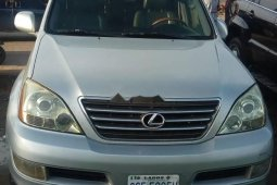 Nigeria Used Lexus GX 2004 Model Silver