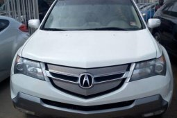 Foreign Used 2007 Acura MDX Petrol Automatic