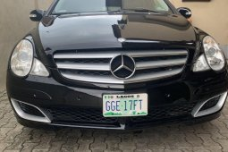 Foreign Used Mercedes-Benz R-Class 2006 Model Black
