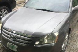 Nigeria Used Toyota Avalon 2006 Model Grey