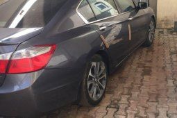 Tokunbo Honda Accord 2015 Model Grey