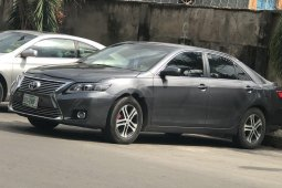 Nigeria Used Toyota Camry 2008 Model Grey