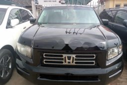 Tokunbo Honda Ridgeline 2007 Model Black