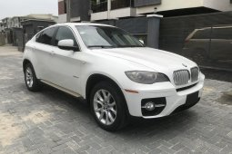 Nigeria Used BMW X6 2010 Model White