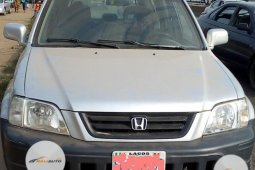 Nigeria Used Honda CR-V 2000 Model Silver