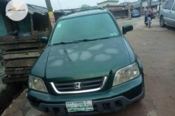Nigeria Used Honda CR-V 2000 Model Green