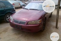 Foreign Used Toyota Camry 2001 Model Red