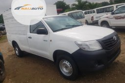 Foreign Used Toyota Hilux 2010 Model White