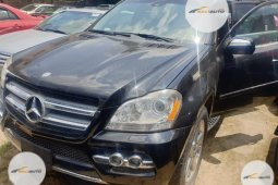 Super CleaForeign used Mercedes-Benz GL Class 2008 GL 450 Black