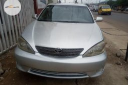 Foreign Used Toyota Camry 2002 Model Silver