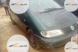 Nigeria Used Volkswagen Sharan 2000 Model Green