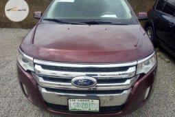 Neat Nigerian Ford Edge 2014 Brown