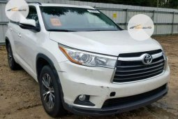 Nigeria Used Toyota Highlander 2016 Model White
