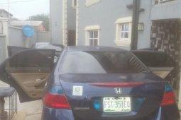 Nigeria Used Honda Accord 2007 Model Blue