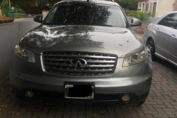 Very Clean Nigerian used Infiniti FX 2005