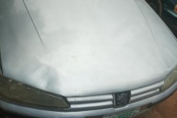 Nigeria Used Peugeot 406 2004 Model Gray